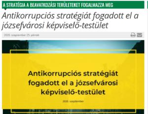 Józsefváros-antikorrupciós-stratégia